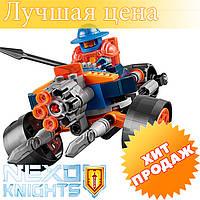 """Конструктор лего нексо Bela 10590 Nexo Knight """"Самоходная артиллерийская установка"""" 110 дет"""