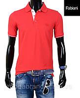 Футболка мужская Fabiani-4306 красная