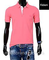 Футболка мужская Fabiani-4306 розовая