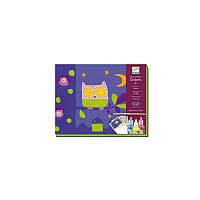 Набор для творчества DJECO Бабочки (DJ08961) цветная бумага,  набор для рисования,  детское творчество