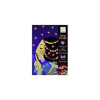 Набор для творчества DJECO 1001 ночь (DJ08671) цветная бумага, набор для рисования, детское творчество