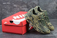 Мужские кроссовки Nike Air Max 90 Military зеленые 3111