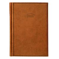 Ежедневник 2018 Стандарт Torino коричневый Brunnen, 73-795 38 70