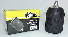 """Швидкозатискний патрон для дриль різьба 1/2""""x20, 2-13 мм"""