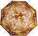 Великолепный женский зонт-автомат AIRTON Z3935-5124, цвет желтый. Антиветер!, фото 2