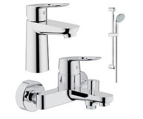 Набор смесителей для ванны BauLoop 123214