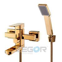 Смеситель для ванны Zegor LEB3 золото
