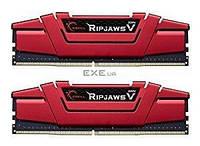 Модуль памяти для компьютера DDR4 16GB (2x8GB) 2400 MHz RipjawsV Red G.Skill (F4-2400C15D-16GVR)
