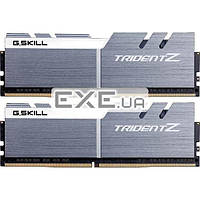 DDR-4 16GB (PC4-3200) Trident Z Silver H/ White logo G.SK (F4-3200C16D-16GTZSW)