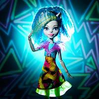 Кукла монстер хай Сильви Тимбервульф Электризованные Monster High Electrified High Voltage Frankie Stein