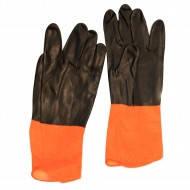 Перчатки резин.утолщ.промыш..30см (10шт/уп)