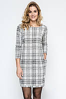 Женское платье в клетку 240122 Enny, коллекция осень-зима 2017-2018