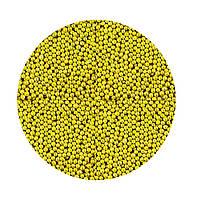Сахарные бусинки-золото 2 мм
