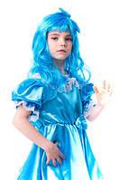 Карнавальный костюм Мальвина для девочки 3-7 лет. Детский маскарадный костюм на праздник