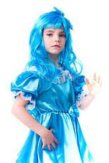 Детский костюм Мальвина для девочки 3,4,5,6,7 лет. Карнвальный костюм на праздник 344, фото 2