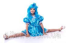 Детский костюм Мальвина для девочки 3,4,5,6,7 лет. Карнвальный костюм на праздник 344, фото 3