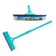 Швабра для мытья окон поворотная. с телескопической ручкой 1.1м.