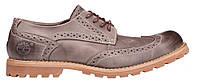 Мужские туфли Timberland Earthkeepers Leather Тимберленд серые