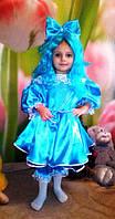 Детский костюм Мальвина для девочки 3,4,5,6,7 лет. Карнвальный костюм на праздник