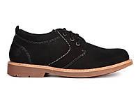 Мужские туфли Timberland Oxford Black Тимберленд черные
