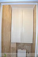 Дверцы жалюзи для шкафа в туалет, фото 1