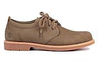Мужские туфли Timberland Oxford Grey Тимберленд серые