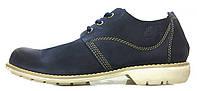 Мужские туфли Timberland Oxford Тимберленды синие