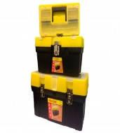 Ящики комплект-3шт  д/инстр.мет.замки(13/16/19) ToolBox