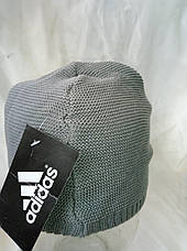 Шапочка мужская трикотажная реплика ADIDAS, фото 3