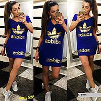 Трикотажные платье- туника adidas 528 ник
