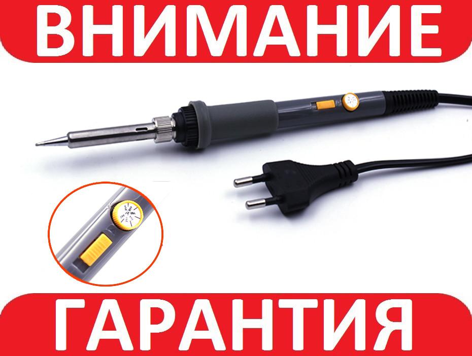 Паяльник 60 Вт с регулировкой температуры и выключателем