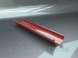 Водостічна система металева РИНВА 2м RAIKO 125/90 (ЖЕЛОБ металлические водосточные системы)