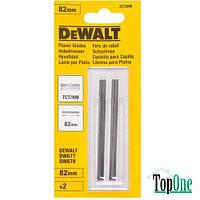 Ножи для рубанка твердосплавные, 82 мм DeWALT DT3906