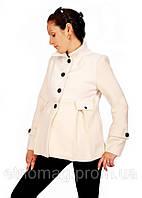 Полупальто кашемировое 2в1:беременность, обычное пальто