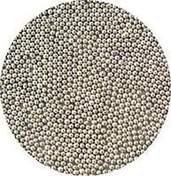Сахарные бусинки-серебро 1 мм