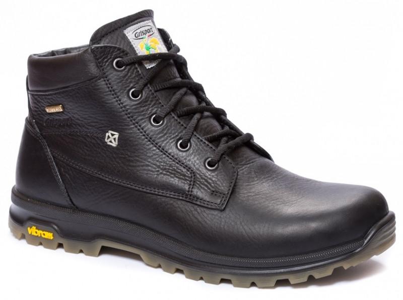 Мужские ботинки зимние высокие Grisport 12925 черные