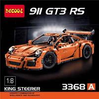 """Детский конструктор Decool 3368 """"Porsche 911 GT3 RS"""" 2728 деталей. Аналог LEGO 42056"""