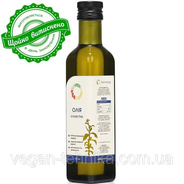 Кунжутное масло холодного отжима (сыродавленное)