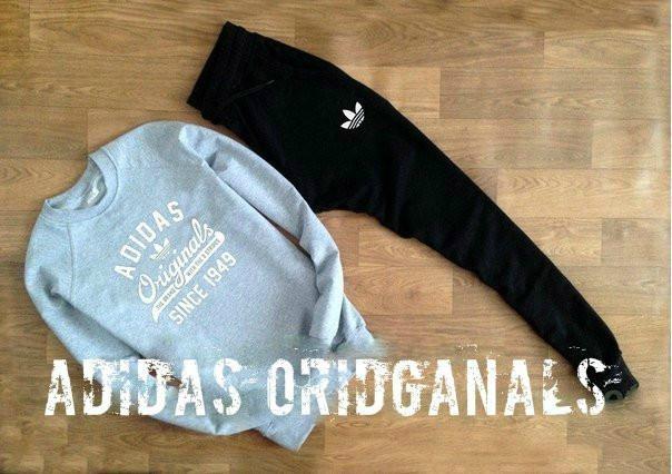 Спортивный мужской летний  костюм Adidas Oridginal (Адидас Ориджинал)