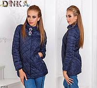 Куртка короткая женская осеняя норма+батал