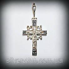 4002 Серебряный крестик 925 пробы от производителя в Харькове