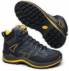 Чоловічі черевики зимові високі Grisport 13717 сині