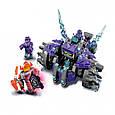 "Конструктор лего нексо Lepin 14028 Nexo Knight (аналог Lego 70350) ""Три брата"", 291 дет, фото 3"