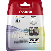 Canon Набор картриджей CANON (PG-510/CL-511) Pixma MP240/250/260/270/272/280/MX320/330 Multipack (2970B010)