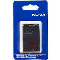 Аккумулятор Nokia BL-4U 1000 mAh 500, 600, 5250 AA/High Copy
