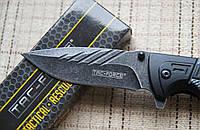 Тактический складной нож TAC-FORCE 919 с стропорезом, стеклобоем и клипсой+подарок!
