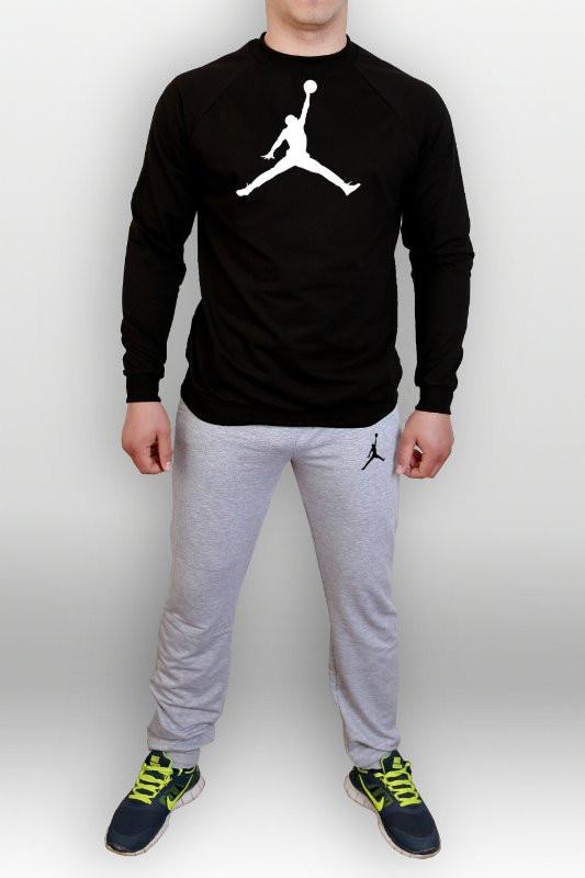 Спортивный мужской летний  костюм Jordan (Джордан)