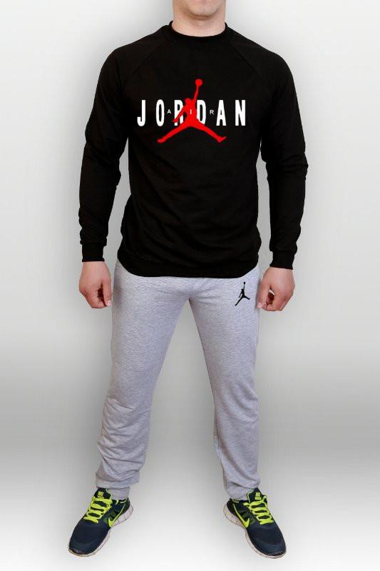 Тренировочный мужской летний споривный костюм Jordan (Джордан)