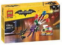 """Конструктор Bela Batman 10626 """"Побег Джокера на воздушном шаре"""" 136 дет"""