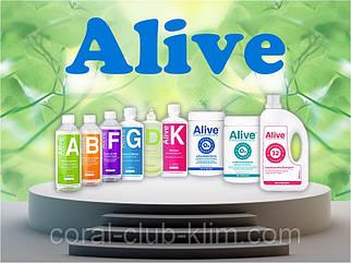 Alive™-коллекция средств для уборки,стирки,мытья посуды